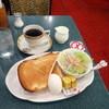 伯爵 - 料理写真:モーニングAセット630円