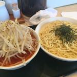 麺屋純太 - 赤つけ麺 特盛 野菜大盛 辛め ¥900