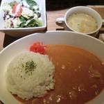 鶏と魚と野菜とMomiji - バターチキンカレーセット