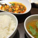 くるみ屋dining - 麻婆豆腐定食(990円)