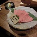 炭火焼肉・にくなべ屋 神戸びいどろ - 神戸牛ミスジ