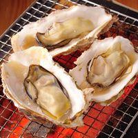 名物!殻付かき! 焼き牡蠣盛り(3個)