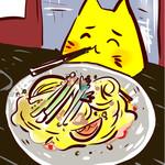 40502612 - 香り豊かな蒸し鶏のゴマソース冷麺、、!ファ~~!幸せ~~~!