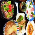 はんなり食堂 - はんなり定食(^_^)v画像が逆転できずm(._.)m