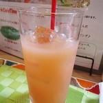 カフェ irodori - ピンクグレープフルーツジュース