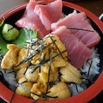 かもめ - 料理写真:二色丼