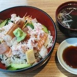 ぎんじ - 「ばらちらし丼」800円(税別)