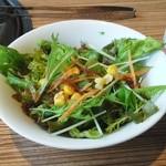 ぎんじ - ランチのサラダ