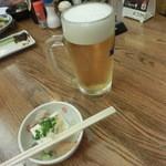 京極スタンド - おビールと奴