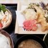 地下食堂 天輪 - 料理写真:天ぷら定食 630円 2015.08.