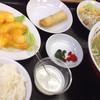 天宝 - 料理写真:海老マヨ定食(昼680円、夜780円)