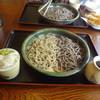 手打ち蕎麦や さ和味 - 料理写真:2015/6  蕎麦の合盛(田舎・せいろ)