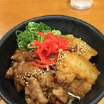 たかばしラーメン - 丼ガバチョ(小)