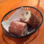 """テート・ア・テート - 四谷フレンチ""""tête-à-tête""""ディナーコースのパンは新宿ラ・バゲット製[2015.08]"""