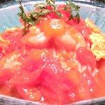 40542343 - <'15/08/03撮影>トマトの家庭風冷麺 1404円