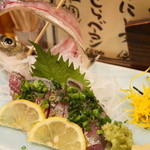 味楽 - 料理写真:活あじ造り(1200円~)
