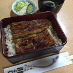 川よし - 2015/07 鰻重2500円