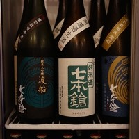 おでん・うどん ○ - 1階のお酒は全て滋賀の七本鎗。2階は40種類が揃う、2時間2000円の呑み放題!
