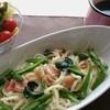 SUMiカフェ R.flow - 料理写真:季節野菜のペペロンチーノ