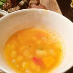 冨田書店 - 豆と野菜のスープ