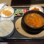 テナム - 週替わりランチ(テンジャンチゲ)¥850