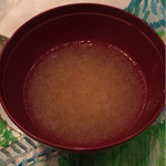 小田島 - [4回目]汁・あら汁