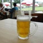 ふじやま食堂 - ふじやまビール500円
