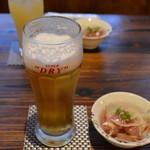 津軽お日さまの味 - 料理写真:生ビール