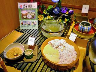 しゃぶ葉 - 冷やし昆布茶漬け(2015年8月)
