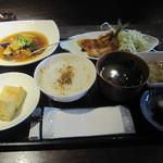 てんぷら 荘司 - 「日替わり定食」一式