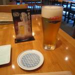 蕎麦遊膳 花吉辰 - 「生ビール」