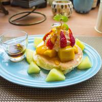 季節のフルーツパンケーキ(数量限定)