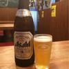 まひる屋 - ドリンク写真:とりあえず、ビール(アサヒ)をキリンのグラスで〜笑
