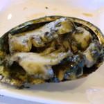 新島水産 - アワビ肝焼きバター醤油で♪