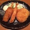 金べえ - 料理写真:ミックスフライ定食、800円です。