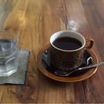 NAGASAWA COFFEE - NAGASAWA COFFEEさん〜エチオピア  イルガチェフェのナチュラルG1 暑い日でしたが、あえてホットで!カップもおしゃれ!