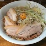 麺処 マゼル - 肉増しまぜそば 塩(麺300g)