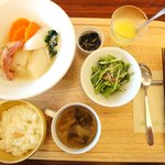 元町カフェ - 野菜の洋風煮込み