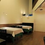 龍のひげ - 店内テーブル席