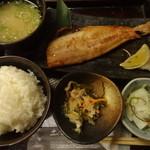土風炉 夢町小路 - 本日の焼魚定食:900円