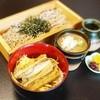 まち庵 - 料理写真:白醤油うな丼 常陸秋そば