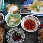 道の駅 みつ シーサイドレストラン 魚菜屋 - 料理写真:穴子膳