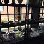 ヘラディワ - 食材棚
