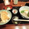 そばと地酒 閑雲 - 料理写真:お昼の「山水」セット855円也