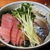 紅葉 - 料理写真:三色丼