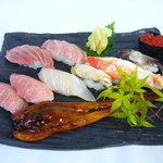 割烹 すぎ山 - 料理写真:特上寿司