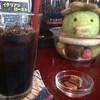 サイトウコーヒー - ドリンク写真:アイスコーヒーとカッパ店長