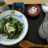 北陸道米山サービスエリア(下り線) レストラン - 料理写真:鯛茶漬け
