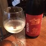 40730407 - 日本酒1杯目 鍋島(佐賀)980円