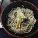 乗瀬高原荘 - 夕食 〆のおそば